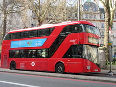Abellio LT615 (Teek the bus enthusiast) Tags: victoria putney bridge route 36 507 london buses go ahead abellio metroline tower transit national express