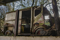 Crumbs on the earth.. the forgotten vehicles (Red Cathedral [FB theRealRedCathedral ]) Tags: redcathedral aztektv sony alpha slt mkii sonyalpha a77ii a77 dslr sonyslta77ii translucentmirrortechnology wanderlust digitalnomad contemporaryart urbex hiking protest activism alittlebitofcommonsenseisagoodthing travellingphotographer travel livinghistory redcathedralart lorraine gaumaise grandest france meus ruin ruins forgotten abandonned urbanexploration renault car van bus oldtimer wreck