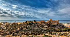 La Alcazaba de Almería 3 (Manuel Peña Jiménez) Tags: alcazaba almería fortaleza castillo nubes mar paisaje ciudad fujifilmxs1