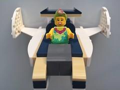 Hula Speeder (sander_sloots) Tags: lego moc speeder hula lula minifig minifiguur movie creation bricks stenen bike hulalula