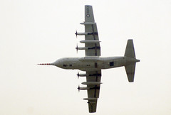 1967 Lockheed C-130K Hercules W.2 XV208 - RAE - RIAT 1983 - RAF Fairford (anorakin) Tags: 1967 lockheed c130k hercules w2 xv208 rae riat 1983 raf fairford