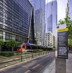 609 Main at Texas - Downtown Houston (Mabry Campbell) Tags: 609mainattexas harriscounty hines houston pickardchilton texas usa architecture building downtown exterior image photo photograph skyscraper tower train f71 mabrycampbell april 2019 april22019 20190402houstoncampbellh6a6656pano 24mm ¹⁄₆₀sec 100 tse24mmf35lii