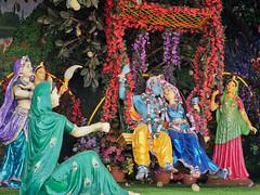 Krishna Temple Prem Mandir, 21st Century. Vrindavan, India (varfolomeev) Tags: 2018 индия город церковь church india fujifilmxt10