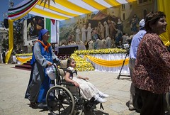 MH_140525_8207 (Custody of the Holy Land - Photo Service (CPS)) Tags: bethlehem francis holyfather holyland holymass mass palestine pope popefrancis terrasanta terresainte blue child communion disabilities disability disabled handicap mangersquare sister wheelchair