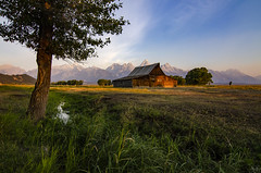 The most photographed barn in America (Jersey JJ) Tags: ta moulton barn mormon row antelope flats wyoming morning light grand teton tetons national park jackson hole