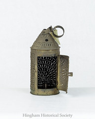 Pierced Tin Barn Lantern (Old Derby) Tags: adelaideburrourslercollection hingham hinghamhistoricalsociety hinghamhistoricalsocietycollection lettherebelight ma massachusetts usa unitedstates collection history lamp light lighting