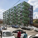 New Residential Building Made Of 140 Reclaimed Shipping Containers thumbnail
