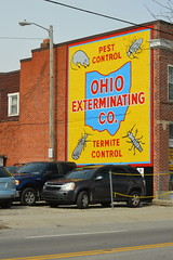 ohio exterminating company (brown_theo) Tags: pest control termite columbus ohio high street advertising paint wall campus osu shortnorth