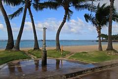 Beach Shower (ALOHA de HAWAII) Tags: alamoanabeachpark