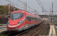 ETR400 - 14 (Mattia Deambrogio - Trains & Cars Photos) Tags: etr400 frecciarossa 1000 novara stazione ferroviaria trenitalia invio vuoto