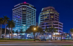 Phillips Point Towers, 777 S Flagler Drive, West Palm Beach, Florida, USA, Architect: Hellmuth Obata & Kassabaum / Completed: 1986 / Architectural Style: Modernism, Building Heights: (East Tower() 154.82 ft (West Tower) 226.27 ft, / Floors:  13 & 19 (Photographer South Florida) Tags: phillipspointtowers 777sflaglerdrive westpalmbeach florida usa architecthellmuthobatakassabaumcompleted1986architecturalstylemodernism buildingheightseasttower15482ftwesttower 22627ft floors1319 buildingheightseasttower15482ftwesttower22627ft palmbeachcounty city cityscape urban downtown skyline southflorida density centralbusinessdistrict skyscraper building architecture commercialproperty cosmopolitan metro metropolitan metropolis sunshinestate realestate highrise royalparkbridge townofpalmbeach palmbeach clearlake