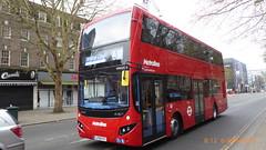 P1150465 VMH2592 LF19 FXT at New Broadway Uxbridge Road Ealing Broadway London (LJ61 GXN (was LK60 HPJ)) Tags: volvob5lhybrid mcv evoseti mcvevoseti 105m 10490mm metroline metrolinewest vmh2592 lf19fxt nb997