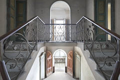 Villa Stresa (Sean M Richardson) Tags: abandoned villa staircase symmetry canon photography travel italia urbex explore architecture decay details