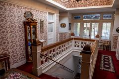 Grand Hotel Stairway (Serendigity) Tags: az arizona bisbee bisbeegrandhotel usa unitedstates hotel interior stairwell unitedstatesofamerica