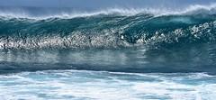 Wall of water (thomasgorman1) Tags: wall water wave beach shore hawaii oahu nikon keaau kaena nature crest pacific ocean surf