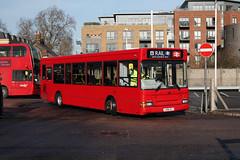 SWR Rail Replacement, Red Routemaster, LDP293, LX06EZJ (Jack Marian) Tags: swrrailreplacement redroutemaster ldp293 lx06ezj7 southwesternrailway dennis dart dennisdart plaxton pointer plaxtonpointer k twickenham claphamjunction buses bus london