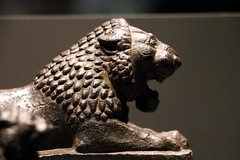Bronze lion (calmeilles) Tags: london england unitedkingdom ashurbanipal britishmuseum assyria ancienthistory archaeology middleeast nineveh