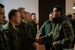Wizyta w 1. Warszawskiej Brygadzie Pancernej w Wesołej (Kancelaria Premiera) Tags: premier mateuszmorawiecki mon ministerstwoobronynarodowej mariuszbłaszczak brygada pancerna wojsko żołnierze wesoła