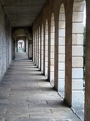 Brompton cemetery (laurapage839) Tags: arches light brompton cemetery london shadow perspective