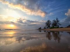 IMG_6429 ~ lanjut calling (alongbc) Tags: sunrise beach coast coastline seascape shoreline reflection cloud sea water pantailanjut kualarompin rompin pahang malaysia travel place trip canon eos700d 700d canonlens 10mm18mm wideangle happyplanet asiafavorites
