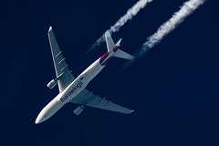 Eurowings Airbus A330-203 D-AXGC (Thames Air) Tags: eurowings airbus a330203 daxgc contrails contrailspotting