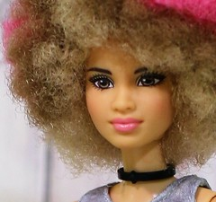 Rocker Drummer closeup (Annette29aag) Tags: barbie doll rocker drummer fashionista portrait