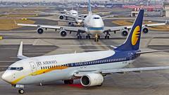 Jet Airways Boeing B737-800 VT-JFB Mumbai (VABB/BOM) (Aiel) Tags: jetairways boeing b737 b737800 vtjfb mumbai canon60d tamron70300vc
