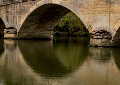 Reflections Shillingford Bridge (akatsoulis) Tags: road gradeiilisted warerscape landscape architecture reflections oxford uk nikon river bridge