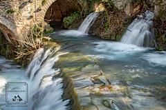 Greek Memory (fentonphotography) Tags: greece livadeia waterfall rushingwater bridge arch longexposurephotography travel destination