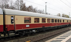 Rheingold Half-Dining Car (Schwanzus_Longus) Tags: papenburg german germany train station passenger express tee trans europ europa europe rheigold car dining old classic vintage railroad railway