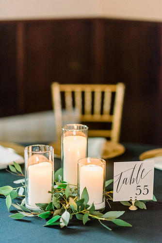 "Candle and Greenery Centerpiece Bella Sala • <a style=""font-size:0.8em;"" href=""http://www.flickr.com/photos/81396050@N06/47411999652/"" target=""_blank"">View on Flickr</a>"