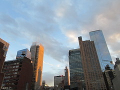 2019 March Evening Sky NYC 4275 (Brechtbug) Tags: 2019 march evening sky nyc virtual clock tower from hells kitchen clinton near times square broadway new york city midtown manhattan 03182019 stormy weather building no hanging cumulonimbus blue cumulus nimbus cloud fall hell s nemo southern view