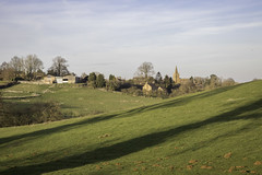 Eaton (NathanBateson) Tags: england english villages countryside farming leicestershire rural british heart eaton vale belvoir church spire fields landscape