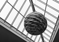 Tivoli Hotel Sphere (JamieDieu) Tags: 35mmfilm blackandwhite ilford dslrscan om2
