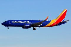 Southwest Airlines | Boeing 737-8 | N8704Q | Las Vegas McCarran (Dennis HKG) Tags: aircraft airplane airport plane planespotting canon 7d 100400 lasvegas mccarran klas las southwest southwestairlines swa wn boeing 737 7378 boeing737 boeing7378 737max boeing737max n8704q
