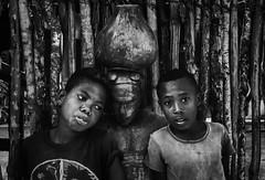 Tulear Street (Rod Waddington) Tags: africa afrique afrika madagascar malagasy boys blackandwhite mono monochrome culture cultural children streetphotography street statue portrait people