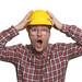 Bauleiter regt sich auf