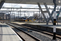Utrecht Central Station (Davydutchy) Tags: utrecht nederland netherlands niederlande paysbas holland ns nederlandse spoorwegen railway eisenbahn chemindefer jernbanen fervojo rautatie vasút vasutak ferrovie železnic dráhy железныедороги track rails emplacement yard gleis gleise march 2019
