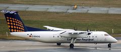 DHC-8-314 D-BHOQ (707-348C) Tags: frankfurtairport eddf fra frankfurt airliner propliner turboprop prop passenger dehavillandcanada dhc8 dbhoq augsburgairways dash8 dh8c dhc 2007 lufthansaregional germany dhc8314