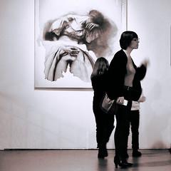 Une si grande peine (_ Adèle _) Tags: expo bruxelles botanique empreintes ernestpignonernest nbnoiretblanc monochrome