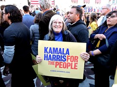 San Pablo Councilmember Rita Xavier; Kamala Harris For the People (xaviergardens) Tags: 2020presidentialelection ussenatorkamalaharris democraticparty oakland oaklandcityhall california