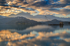 IMG_9264_Shuishalian (Mark thanks for 2,000,000+ views) Tags: 日月潭 水 湖 船 天空 雲 倒影 山 風景