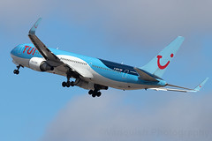 G-OBYG Tui Air B767-300 Arrecife Airport Lanzarote (Vanquish-Photography) Tags: gobyg tui air b767300 arrecife airport lanzarote vanquish photography vanquishphotography ryan taylor ryantaylor aviation railway canon eos 7d 6d 80d aeroplane train spotting