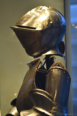Partial Armour (c. 1510) (Bri_J) Tags: royalarmouries leeds westyorkshire uk museum militarymuseum yorkshire nikon d7500 partialarmour armour helmet metal flemisharmour