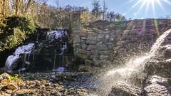 Waterfall - 6507 (ΨᗩSᗰIᘉᗴ HᗴᘉS +50 000 000 thx) Tags: sun rays cascade floreffe water belgium europa aaa namuroise look photo friends be yasminehens interest eu fr greatphotographers lanamuroise flickering sonydscrx10m4