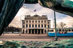 A New Day (Fredrik Lindedal) Tags: tram train theater storan streetview street gothenburg göteborg skyline sweden sverige lindedal