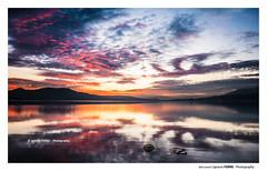 Red sunset (Ignacio Ferre) Tags: embalsedesantillana manzanareselreal madrid españa spain lago lake agua water cielo sky sunset puestadesol anochecer red rojo paisaje landscape nikon naturaleza nature