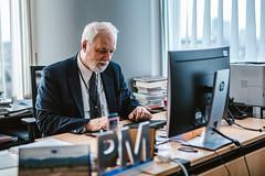 Jan Olbrycht w Parlamencie Europejskim w Brukseli