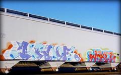 (timetomakethepasta) Tags: krone freight train graffiti art grainer hopper jaket
