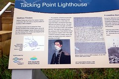 Tacking Point Lighthouse (Gillian Everett) Tags: tacking point lighthouse beach nsw australia 1879 flinders